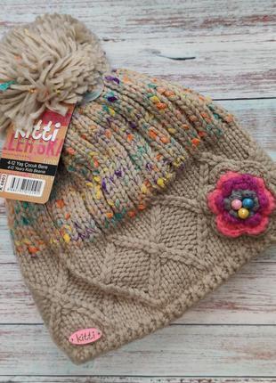 Детская зимняя шапка для девочки 4-12 лет к6803