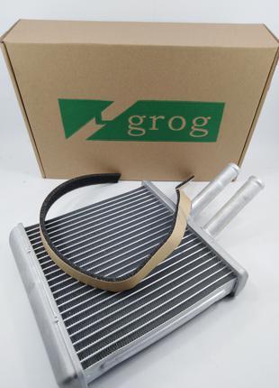 Радиатор печки (алюминевый, 23соты) Ланос grog Корея
