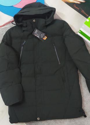 Зимняя мужская куртка утеплитель тинсулейт