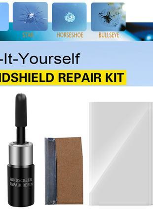 Полимер клей для ремонта лобового стекла,сколов,трещин,паутин,рем