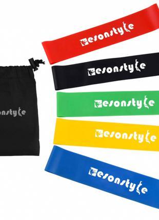 Эспандеры резиновые ленты набор спортивных резинок для фитнеса