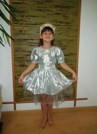 Новогодний костюм Снежинка 2