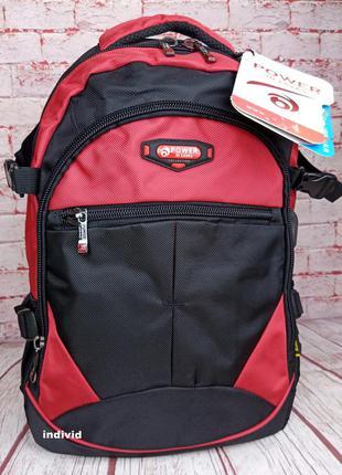 Качественный мужской рюкзак с с usb. спортивный рюкзак дорожны...