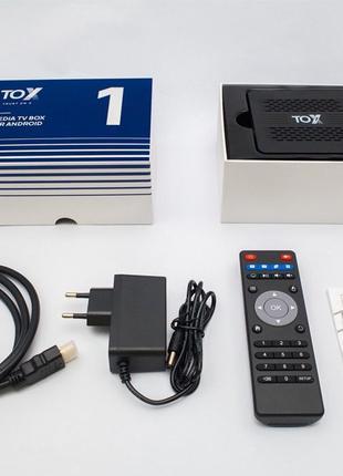 TOX1 4ГБ / 32ГБ - ТВ приставка (тв бокс)Ugoos