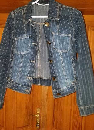 Джинсовый жакет женский Gloria Jeans