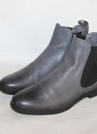 Кожаные ботинки чесли 36 размер marc o'polo