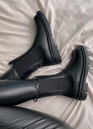 Ботинки женские с мехом боттега bottega veneta
