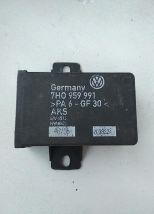Блок управления двери Volkswagen Transporter T-5. 7H0959991.