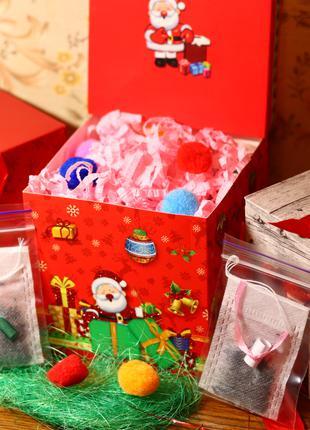 Подарочный набор чая с пожеланиями, признаниями внутри
