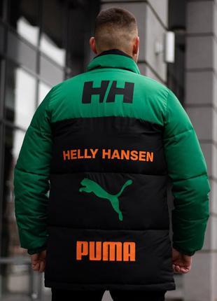 Шикарный мужской пуховик зимний наложенный платёж helly hansen...