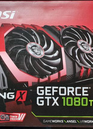 Видеокарта MSI GeForce GTX 1080TI GAMING X 11G
