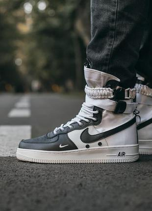"Nike air force sf ""black\white""🆕шикарные кроссовки найк🆕купить..."