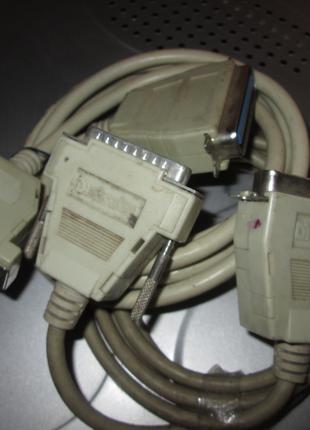 Кабельный переходник адаптер LPT Centronics 36 PIN IEEE 1284-B на