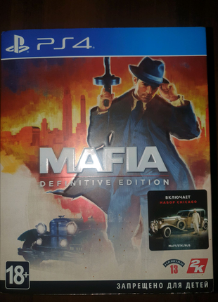 Mafia definitive edition для ps4 / ps5