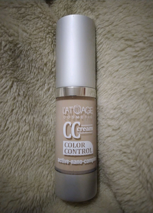 Тональный крем latuage cosmetic cc cream