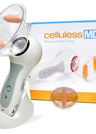 Вакуумный антицеллюлитный массажер Celluless MD, Масажер для тіла