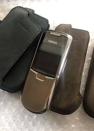 Чехол Nokia 8800 Classic Sirocco (боковой оригинал) Натуральна...
