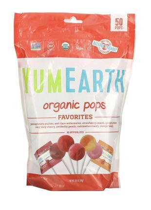 🍓🍓🍓Органічні льодяники «Асорті» від YumEarth - натуральні цукерки