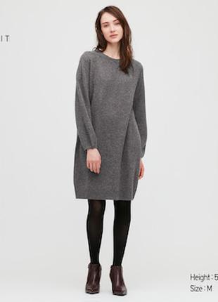 Шерстяное платье UNIQLO, p. L