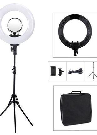 Лампа кольцевая LED 45 см со штативом Tycipy 48 Вт Код: 2330