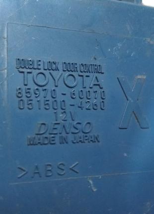 85970-60070Блок управления центральным замкомToyota Land Cruise