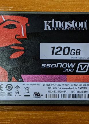 Kingston SSDNow V300 120 Gb SV300S37A/120G (состояние нового -...