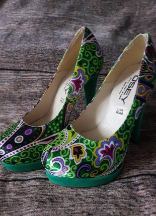 Женская Обувь Osey на шпильке с платформой