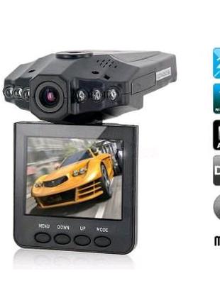 Автомобильный видеорегистратор DVR 198 HD с ночной съёмкой
