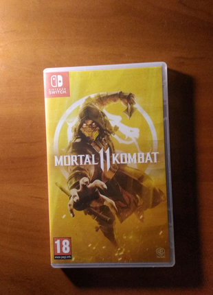 Игра для Nintendo Switch.Mortal Kombat 11.
