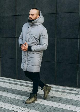 Зимняя мужская куртка ASOS parka long 2020