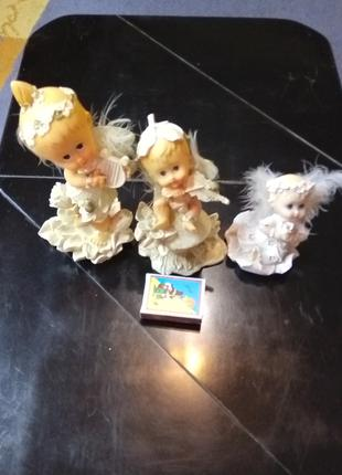 Сувениры ангелочки 3 шт