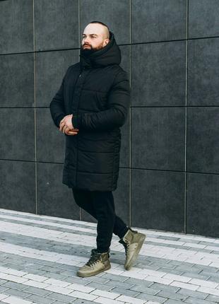 Мужская зимняя куртка ASOS parka long 2020