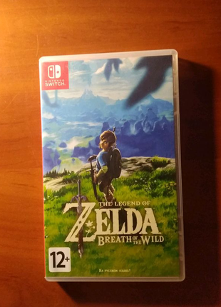 Игра для Nintendo Switch.The legend of Zelda BotW.На русском язык