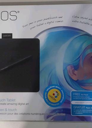 Графический планшет Wacom Intuos Art S Black PT S