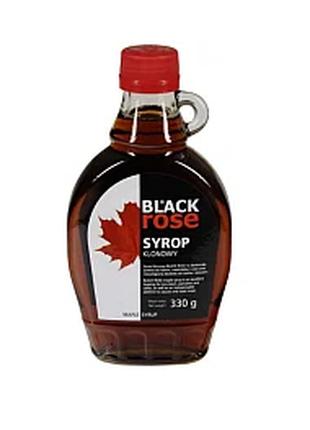 BIO органический кленовый сироп меньше калорий чем мед Black Rose