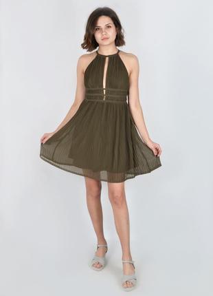 Платье хаки h&m