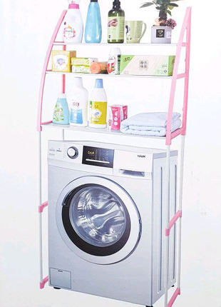 Стойка органайзер над стиральной машиной – напольные полки