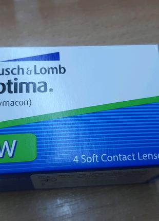 Линзы контактные. Optima. 3х месячного срока дневного ношения