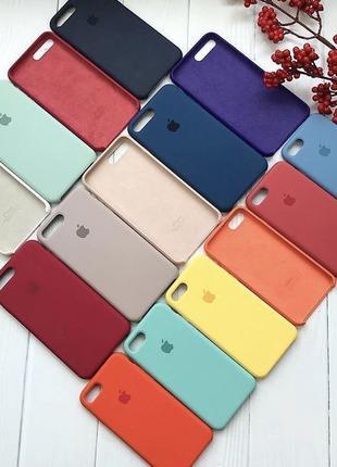 Силиконовый чехол IPhone 6/6s/7/8/+/X/Xr/Xs/11/11 Pro/Max айфо...