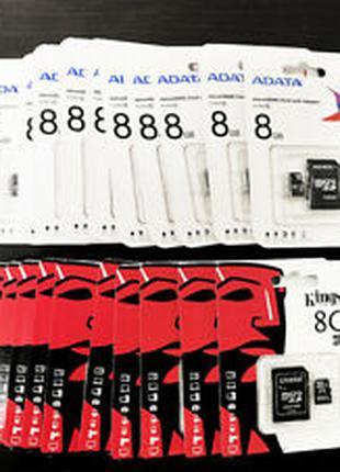 MicroSD 8/16/36/64/128GB Class10 Карта памяти Флешка GB