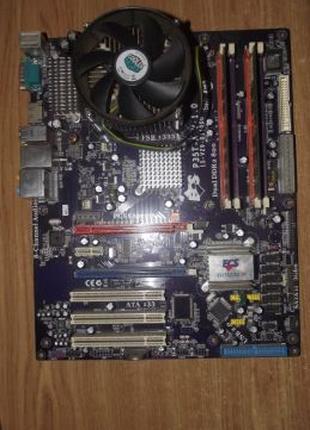 Комплект s775 ECS P35T-A + Core2 duo +4Gb DDR2