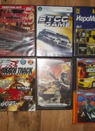 Игровые диски для компьютера, цена за все