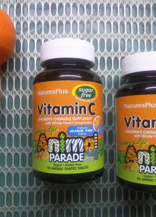 Витамин C без сахара для детей Animal parade