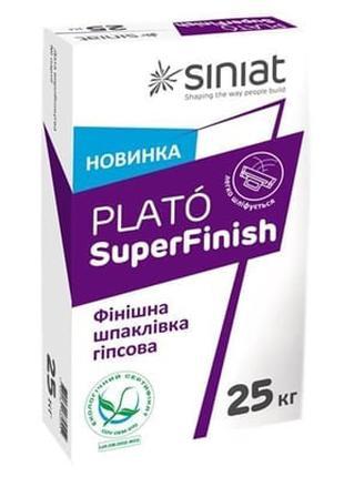 Шпаклевка финишная PLATÓ SUPER FINISH 25 кг (аналог Мультифиниш)