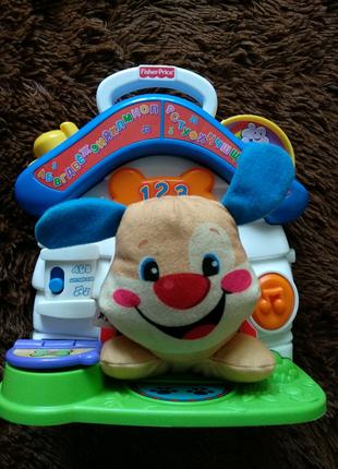 Развивающая игрушка Домик умного щенка Fisher price