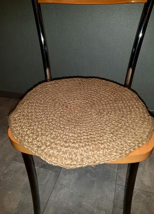 Джгутовый чехол на стул , табурет