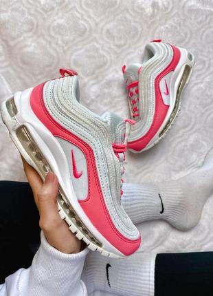 Nike air max 97 white&pink