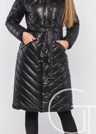 Зимняя куртка пуховик (пальто)