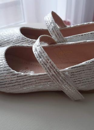 Нарядные туфли для девочки. 26 Размер.