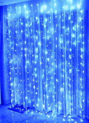 Гирлянда штора водопад светодиодная, ТОП продаж